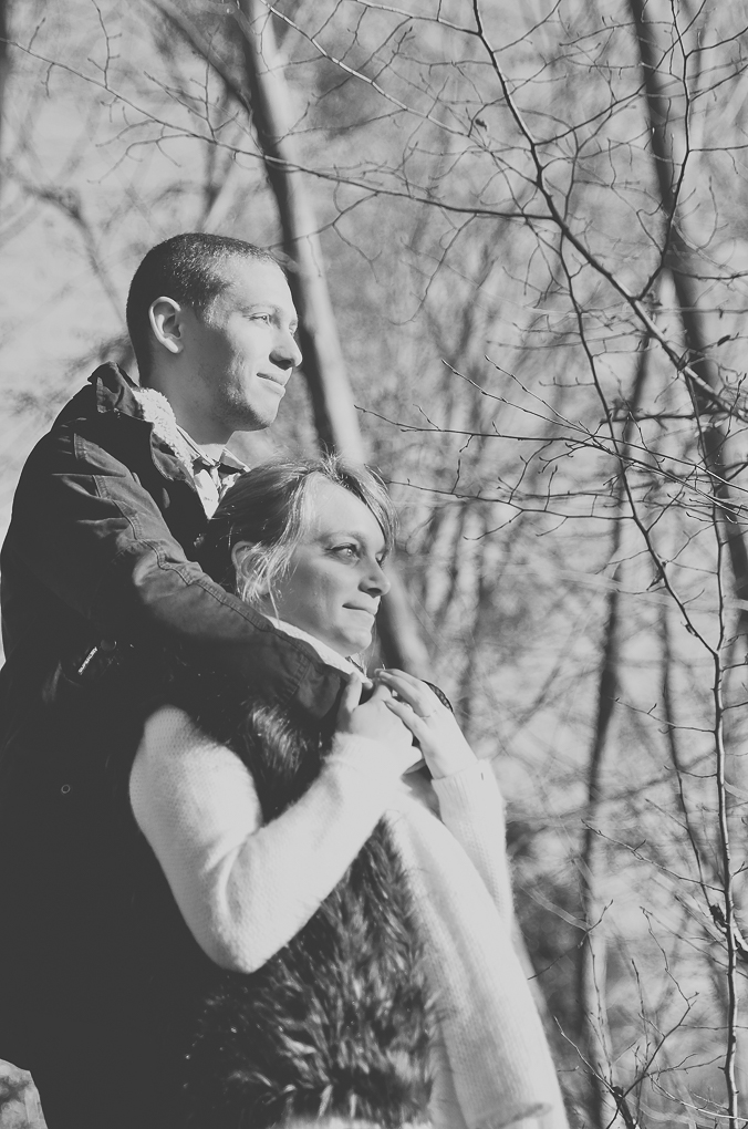 Elixirphotos photos de couple séance engagement forêt Chantilly
